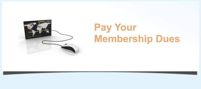 Pay Your Membership Dues